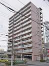 Mプラザ堅田駅前表通りの外観