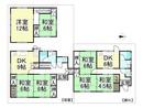 滋賀県高島市安曇川町中央4丁目の間取り図