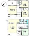 滋賀県彦根市竹ケ鼻町の間取り図