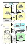 滋賀県彦根市西今町の間取り図