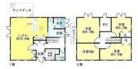 滋賀県近江八幡市安土町常楽寺の間取り図