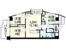 ロータリーマンション パレ・ベルフォーレの間取り図
