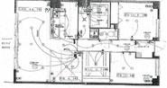 キングマンションアンティオーネ御幣島イーストヴェールの間取り図