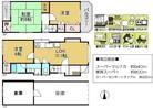 大阪府摂津市東別府2丁目の間取り図