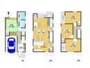 大阪府大阪市東住吉区駒川4丁目の間取り図