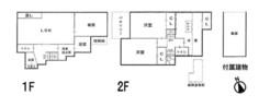 大阪府八尾市黒谷5丁目の間取り図