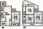 大阪府堺市東区野尻町の間取り図