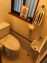 京都府亀岡市河原町のトイレ