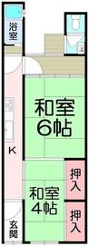 京都府京都市左京区田中大堰町の間取り図