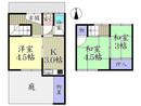 京都府京都市山科区音羽伊勢宿町の間取り図