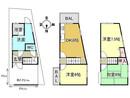 京都府京都市伏見区西柳町の間取り図