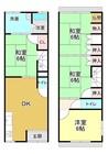 京都府京都市伏見区深草キトロ町の間取り図