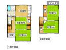 京都府城陽市平川古宮の間取り図