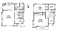 兵庫県神戸市北区緑町3丁目の間取り図