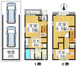 兵庫県神戸市東灘区深江本町1丁目の間取り図