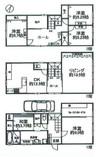 兵庫県芦屋市西芦屋町の間取り図