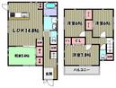 兵庫県伊丹市鋳物師2丁目の間取り図
