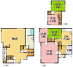 兵庫県神戸市垂水区城が山5丁目の間取り図