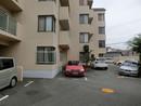 夙川パーク・ハイムの駐車場