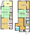 兵庫県川西市栄町の間取り図