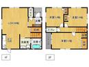 兵庫県加古川市加古川町中津の間取り図