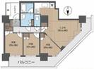 北戸田ファーストゲートタワーの間取り図
