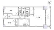 東大島ファミールハイツ1号館の間取り図