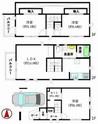 東京都板橋区小茂根1丁目の間取り図