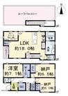 東京都板橋区蓮沼町の間取り図