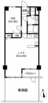 キャニオンマンション第10高島平の間取り図