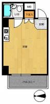 ライオンズマンション西新宿第6の間取り図
