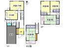 奈良県大和高田市蔵之宮町の間取り図