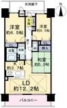 ローレルコート天理二階堂ラフィーナの間取り図