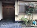 京都府京都市北区等持院南町の玄関