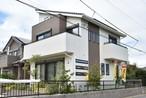 山武市蓮沼ハ 蓄電池装置付 モデルハウス住宅の外観