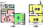 南岩国町5丁目戸建て住宅の間取り図