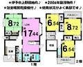 上野 中古戸建の間取り図