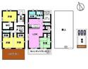 中古戸建 天王2丁目 へーベルハウスの家の間取り図