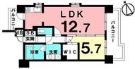 Lala place resort 那覇新都心の間取り図