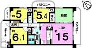 アーバンシティ東静岡の間取り図