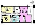 ベラージュ桜井の間取り図