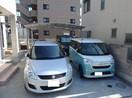 清水町伏見中古戸建の駐車場