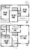 吉藤2丁目(中古戸建)の間取り図