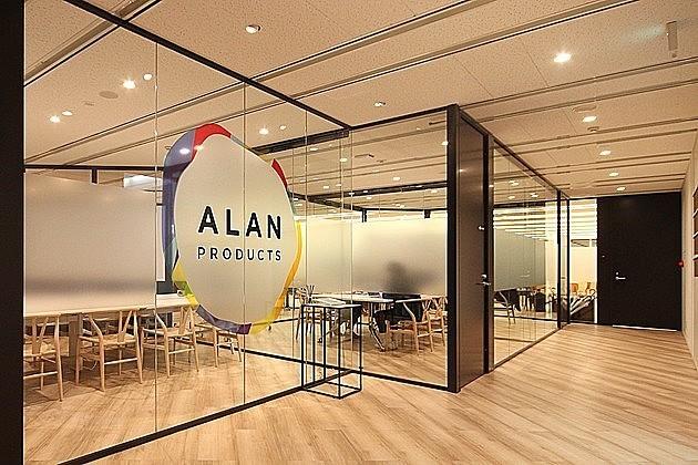 「アラン・プロダクツ」念願の自社オフィスにはBARに卓球台にゲームまで!