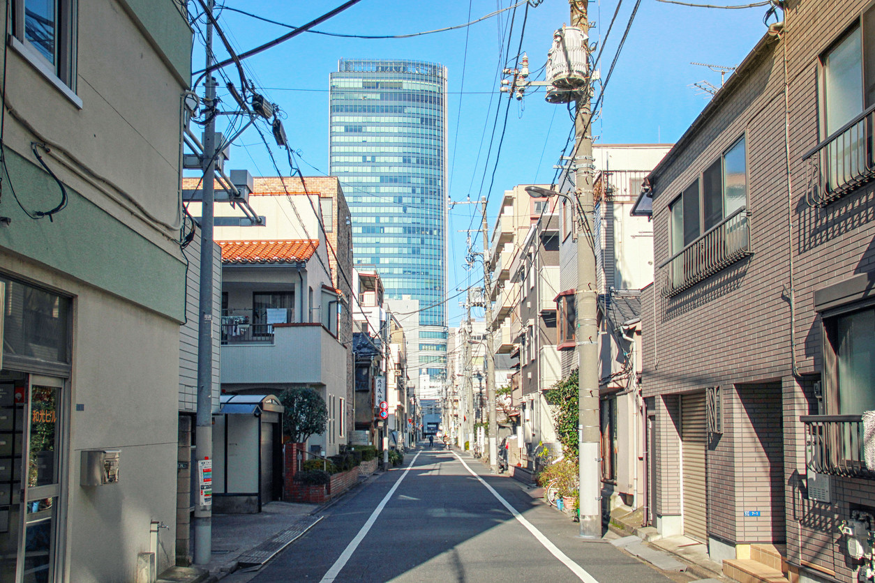 東京 都会 見