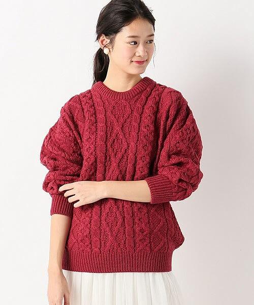 【aran woollen mills/アラン ウーレンミルズ】アランセーター