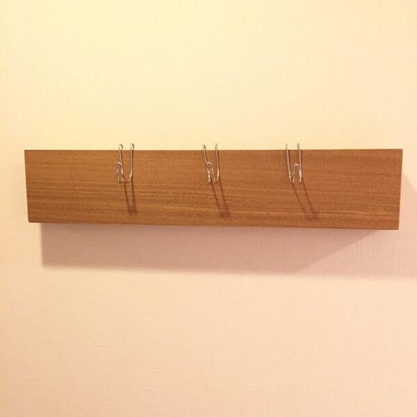 無印良品の壁に付けられる家具・長押