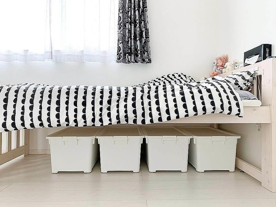 無印 良品 ベッド 下 収納