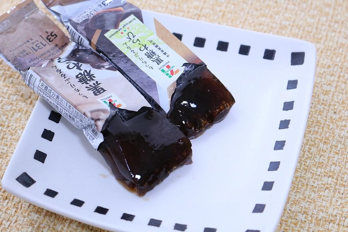 セブン 黒糖 わらび
