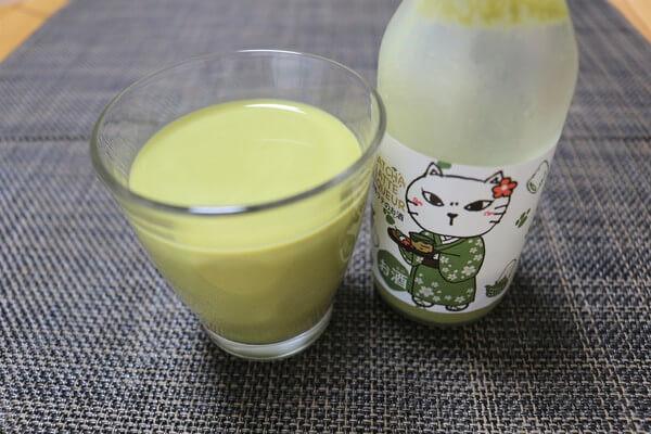 【お酒】カルディオリジナル「抹茶ラテのお酒(リキュール)